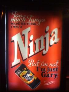 Bus stop for Ninjas