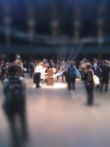 The Roundhouse playing piana